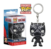 Captain America 3: Black Panther - Pocket Pop! Key Chain