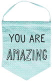 You Are Amazing Pastel Message Flag