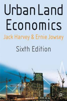 Urban Land Economics by Jack Harvey image