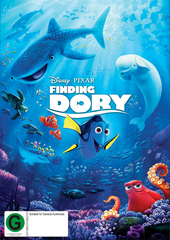 Finding Dory on DVD