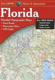 Delorme Florida Atlas & Gazetteer by Rand McNally