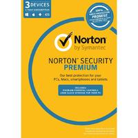Norton Security Premium for Three Devices - 1 Year License