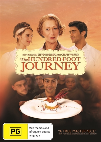 The Hundred-Foot Journey on DVD image