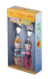 Eat4Fun Kiddos Cutlery Set (Louise & Bianca)