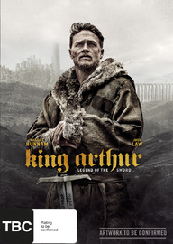 King Arthur: Legend of the Sword DVD