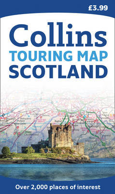 Scotland Touring Map image