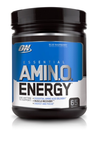 Optimum Nutrition Amino Energy Drink - Blue Raspberry (65 Serves)
