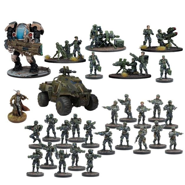 Warpath: GCPS Starter Force