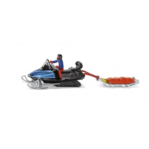 Siku: Snow Mobile with Rescue Sledge