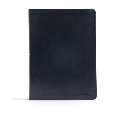 CSB Worldview Study Bible, Navy LeatherTouch by Csb Bibles by Holman