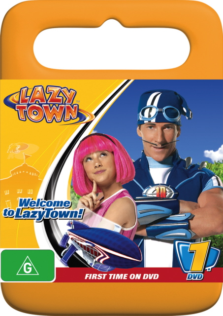 LazyTown - Welcome to LazyTown! on DVD image