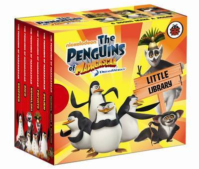 Penguins of Madagascar: Little Library by Ladybird image