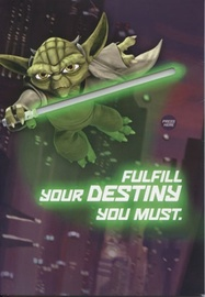 Star Wars: Interactive Sound Birthday Card - Yoda