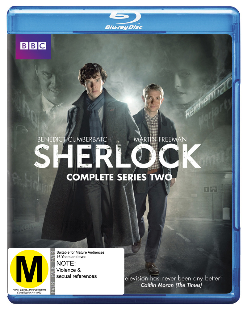 Sherlock - The Complete Second Season on Blu-ray image