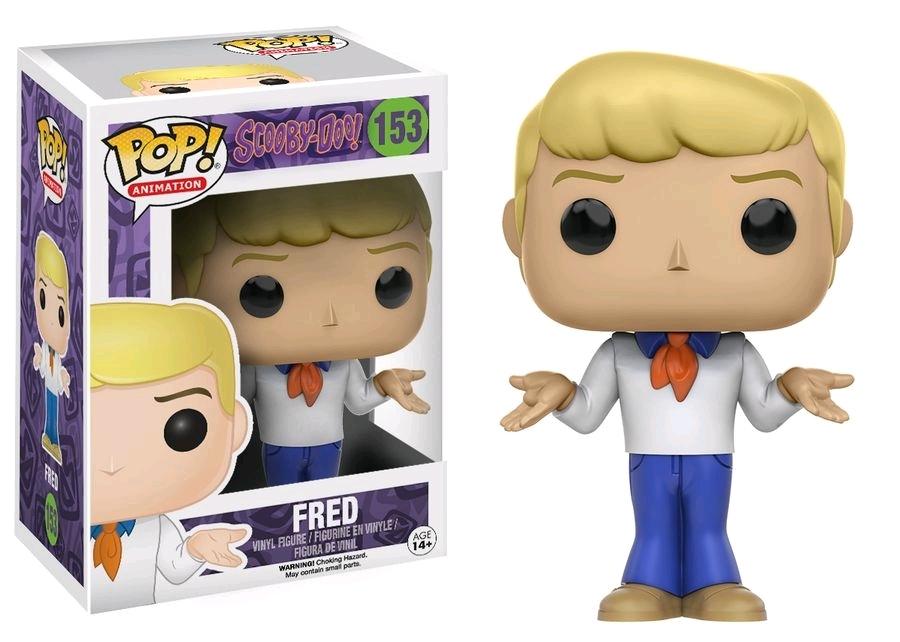 Scooby Doo - Fred Pop! Vinyl Figure image