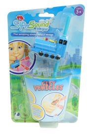 Sip N' Sound Vehicle Straw - Train