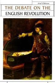 The Debate on the English Revolution by R.C. Richardson image
