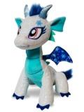 Glitter Shine Dragons: Shimmer Frost Dragon Plush