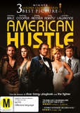 American Hustle on DVD