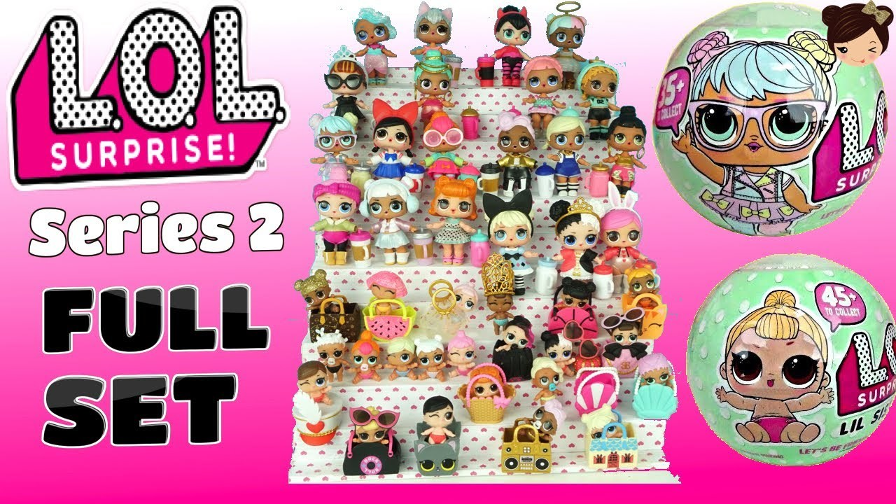 L.O.L: Surprise! Doll - Little Sisters Series 2 (Blind Bag) image