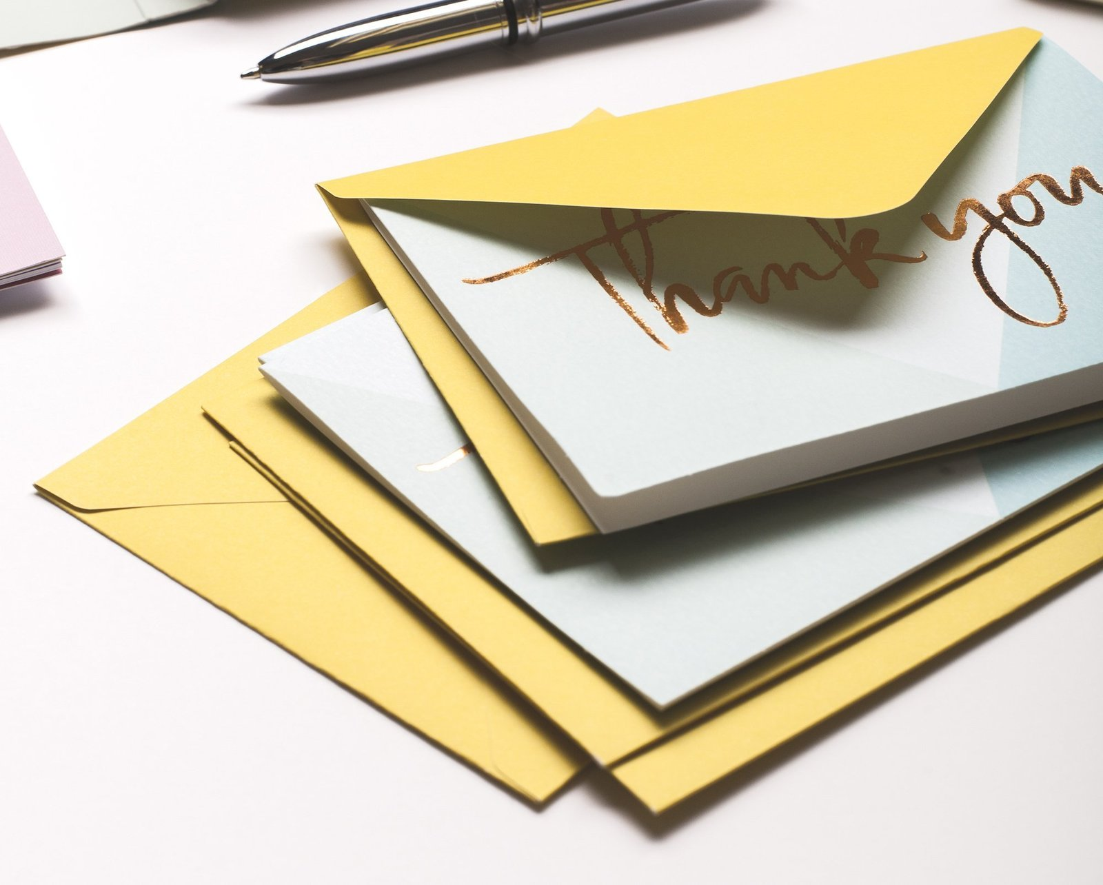 Galison: Luxe Thanks Notecards - Lovely Day image