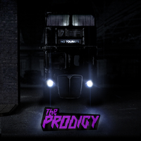 No Tourists (2LP) [Limited Edition Clear Violet Vinyl] by The Prodigy