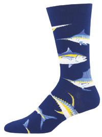 Men's Just For Sport Crew Socks - Navy
