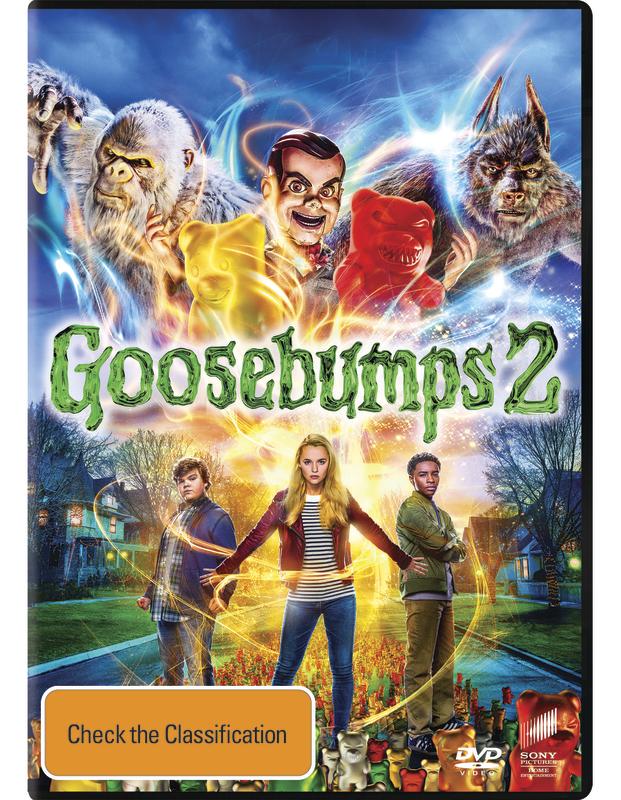 Goosebumps 2: Haunted Halloween on DVD