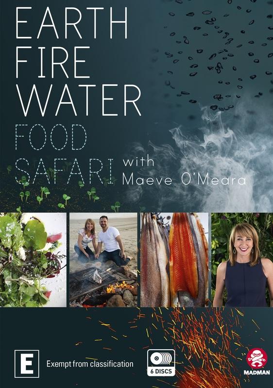 Food Safari Elements Box Set (Fire, Earth, Water) on DVD