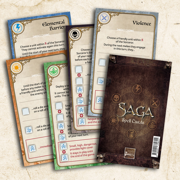Age of Magic Spell Cards