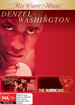 Red Carpet Heroes - Denzel Washington (Training Day / The Hurricane) (2 Disc Set) on DVD