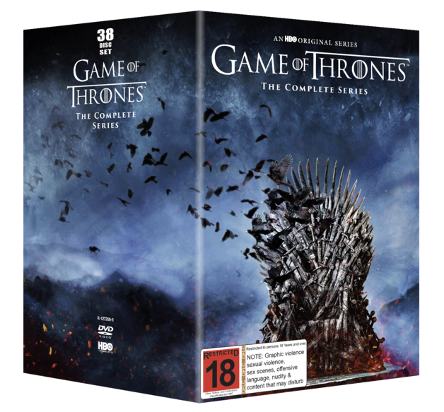Game of Thrones Season 1-8 on DVD