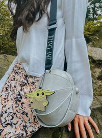 Danielle Nicole: Star Wars Mandalorian: The Child Carriage Crossbody