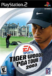 Tiger Woods 2003 for PS2