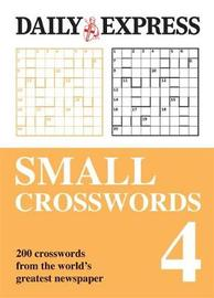 The Daily Express: Small Crosswords 4 image