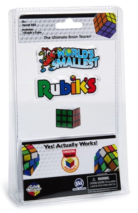 Worlds Smallest - Rubiks Cube