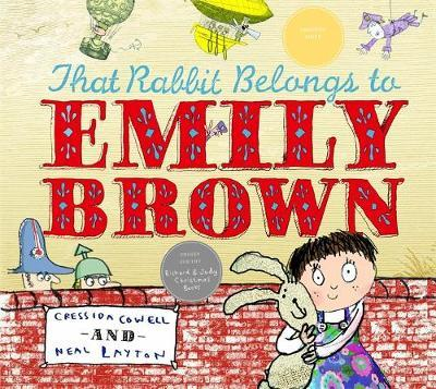 That Rabbit Belongs to Emily Brown by Cressida Cowell image