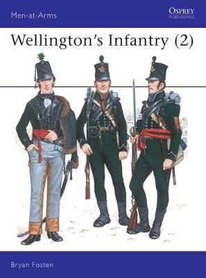 Wellington's Infantry: v.2 by Bryan Fosten image
