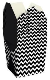 Noodle Gift Box - Black & White Chevron