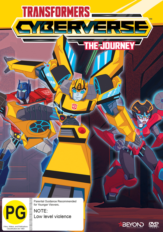 Transformers Cyberverse: The Journey on DVD