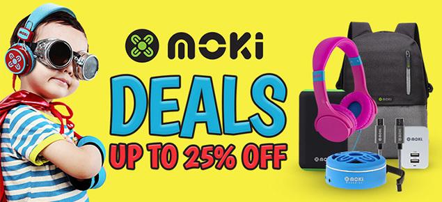 MEGA Moki Tech Sale!