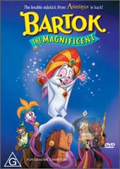 Bartok - The Magnificent on DVD