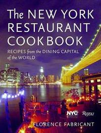 New York Restaurant Cookbook by Florence Fabricant image