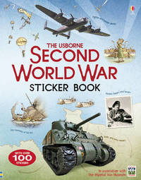Second World War Sticker Book by Henry Brook