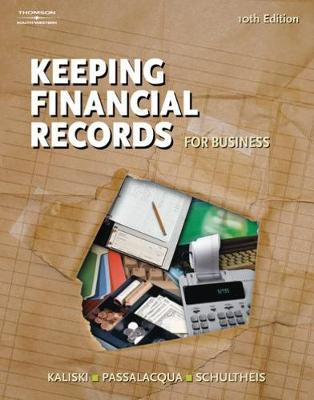 Keeping Financial Records for Business by Robert A. Schultheis image
