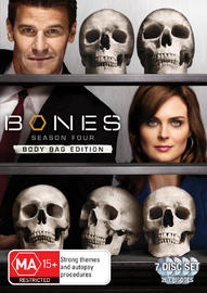 Bones - Season 4 (7 Disc Set) on DVD