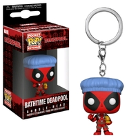 Marvel: Deadpool (Bath Time) - Pocket Pop! Key Chain