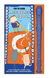 Fun to Learn Recorder and Book Orange and Blue image
