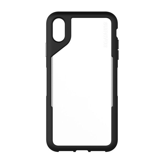 Griffin: Survivor Endurance for iPhone Xs Max - Black/Gray