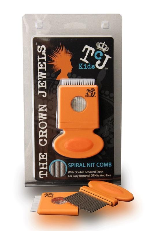 TCJ-Kids: Head-Lice Spiral Tooth Nit Comb